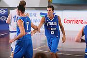 DESCRIZIONE : Cagliari Torneo Internazionale Sardegna a canestro Italia Estonia <br /> GIOCATORE : Luigi Datome <br /> SQUADRA : Nazionale Italia Uomini Italy <br /> EVENTO : Raduno Collegiale Nazionale Maschile <br /> GARA : Italia Estonia Italy Estonia <br /> DATA : 13/08/2008 <br /> CATEGORIA : Esultanza <br /> SPORT : Pallacanestro <br /> AUTORE : Agenzia Ciamillo-Castoria/S.Silvestri <br /> Galleria : Fip Nazionali 2008 <br /> Fotonotizia : Cagliari Torneo Internazionale Sardegna a canestro Italia Estonia <br /> Predefinita :