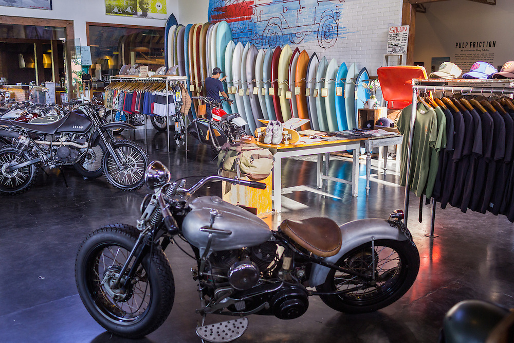 Deus Showroom in Canggu.  Bali, Indonesia.
