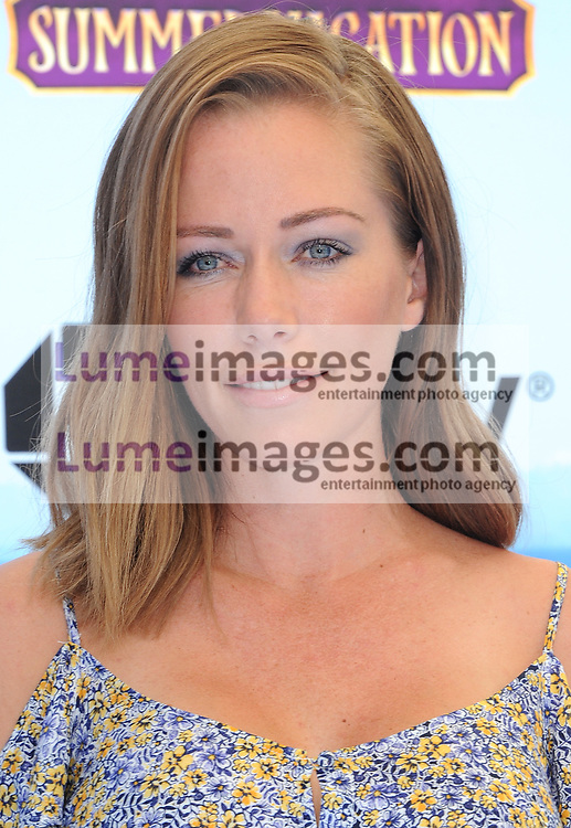 Kendra Wilkinson at the World premiere of 'Hotel Transylvania 3: Summer Vacation' held at the Regency Village Theatre in Westwood, USA on June 30, 2018.