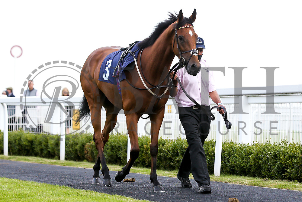 Folie D'Amour ridden by Martin Dwyer and trained by Eve Johnson Houghton - Mandatory by-line: Robbie Stephenson/JMP - 18/07/2020 - HORSE RACING- Bath Racecourse - Bath, England - Bath Races 18/07/20