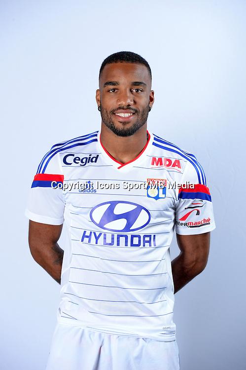Alexandre LACAZETTE - 17.09.2014 - Portrait Officiel - Lyon<br /> Photo : Icon Sport