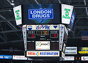 KELOWNA, CANADA - OCTOBER 22:  London Drugs Promotion at the Kelowna Rockets game on October 22, 2017 at Prospera Place in Kelowna, British Columbia, Canada.  (Photo By Cindy Rogers/Nyasa Photography,  *** Local Caption ***