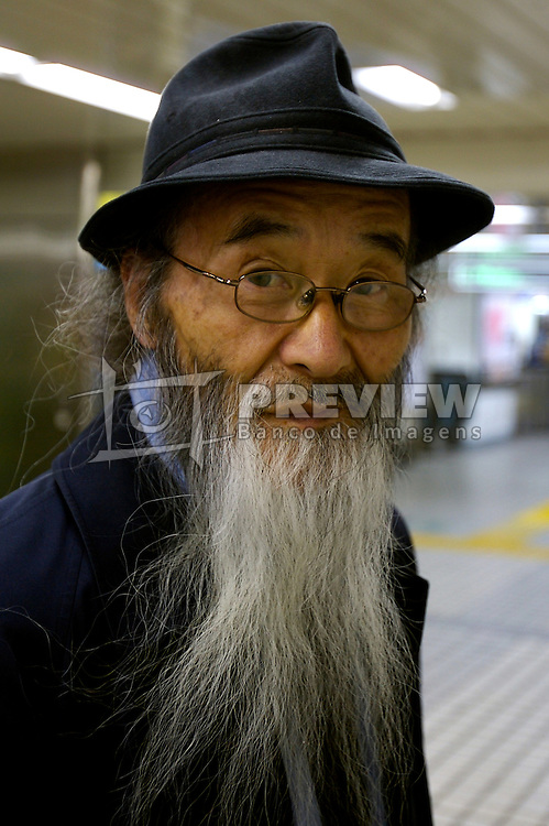Típico senhor japonês. FOTO: Jefferson Bernardes/Preview.com