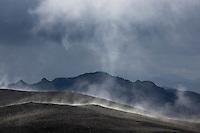 Uppgufun á fjallinu Breiðbak, vestan við Langasjó. Evaporation on Mount Breidbakur, west of Lake Langisjor.