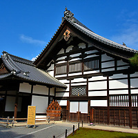 Shakyo at Kinkaku-ji in Kyoto, Japan<br />
