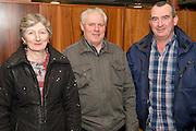 Mary and Tom Forde from Garra Tuam Co Galway and Enda Stephens from Toher Tuam,  at the Sheep Seminar at the Teagasc Liam Mellows campus Athenry.Picture:Andrew Downes
