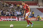 Rafa Mir (14) of Nottingham Forest during the EFL Cup match between Nottingham Forest and Derby County at the City Ground, Nottingham, England on 27 August 2019.