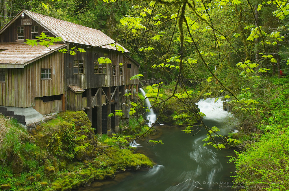 Cedar Creek Grist Mill, Skamania County Washington