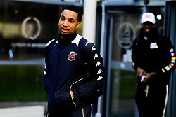 Gentry Thomas of Bristol Flyers arrives at SGS Wise Arena prior to kick off - Photo mandatory by-line: Ryan Hiscott/JMP - 14/12/2019 - BASKETBALL - SGS Wise Arena - Bristol, England - Bristol Flyers v Worcester Wolves - British Basketball League Championship