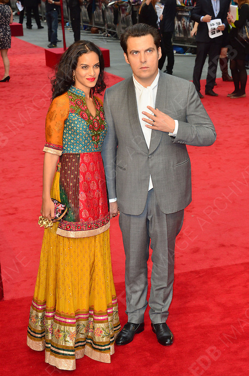 04.SEPTEMBER.2012. LONDON<br /> <br /> FILM DIRECTOR JOW WRIGHT AND GUEST ATTEND THE UK FILM PREMIERE OF NEW FILM ANNA KARENINA AT THE ODEON CINEMA, LEICESTER SQAURE.<br /> <br /> BYLINE: EDBIMAGEARCHIVE.CO.UK<br /> <br /> *THIS IMAGE IS STRICTLY FOR UK NEWSPAPERS AND MAGAZINES ONLY*<br /> *FOR WORLD WIDE SALES AND WEB USE PLEASE CONTACT EDBIMAGEARCHIVE - 0208 954 5968*