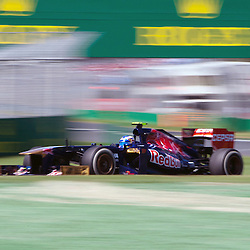 F1 Australian Grand Prix 15 March 2013.F1 Practice Session 1 Daniel Ricciardo Scuderia Toro Rosso Turn 4.(c) MILOS LEKOVIC | StockPix.eu