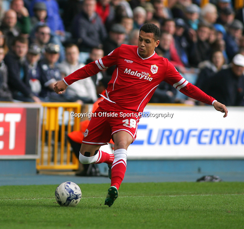 25 October 2014 - Sky Bet Championship - Millwall v Cardiff City - Ravel Morrison of Cardiff.<br /> <br /> <br /> Photo: Ryan Smyth/Offside