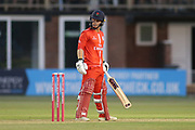 Alex Davies of Lancashire Lightning during the Natwest T20 Blast North Group match between Derbyshire County Cricket Club and Lancashire County Cricket Club at the 3aaa County Ground, Derby, United Kingdom on 6 July 2018. Picture by Mick Haynes.