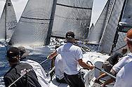 08_009344  © Sander van der Borch. Porto Portals, Mallorca,  July 21th 2008. AUDI MEDCUP in Porto Portals  (21/26 July 2008). Practice race.