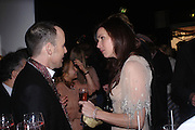 David Furnish and Minnie Driver. The Moet & Chandon Fashion Tribute 2005 to Matthew Williamson,  Old Billingsgate market, London. 16th February 2005. ONE TIME USE ONLY - DO NOT ARCHIVE  © Copyright Photograph by Dafydd Jones 66 Stockwell Park Rd. London SW9 0DA Tel 020 7733 0108 www.dafjones.com