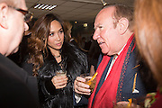 MYLEENE KLASS; ANDREW NEIL, Hennessy Gold Cup, The Racecourse Newbury. 30 November 2013.