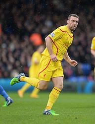 Liverpool's Rickie Lambert - Photo mandatory by-line: Alex James/JMP - Mobile: 07966 386802 - 23/11/2014 - Sport - Football - London -  - Crystal palace  v Liverpool - Barclays Premier League