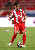 Photo: Maarten Straetemans.<br /> Ajax v Athletico Madrid. LG Amsterdam Tournament. 02/08/2007.<br /> Giorgios Seitaridis (Atletico Madrid)