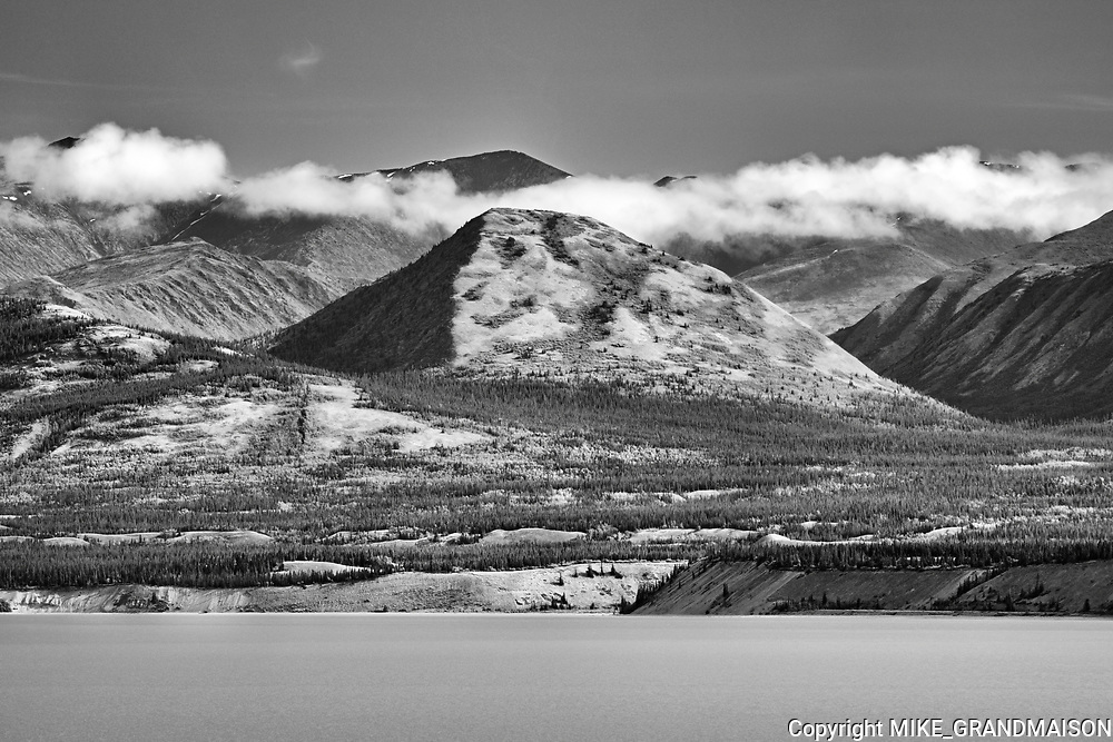 Kluane Lake, Kluane National Park, Yukon, Canada