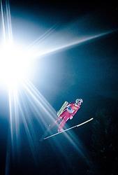 05.01.2016, Paul Ausserleitner Schanze, Bischofshofen, AUT, FIS Weltcup Ski Sprung, Vierschanzentournee, Qualifikation, im Bild Simon Ammann (SUI) // Simon Ammann of Switzerland during his Qualification Jump for the Four Hills Tournament of FIS Ski Jumping World Cup at the Paul Ausserleitner Schanze, Bischofshofen, Austria on 2016/01/05. EXPA Pictures © 2016, PhotoCredit: EXPA/ JFK