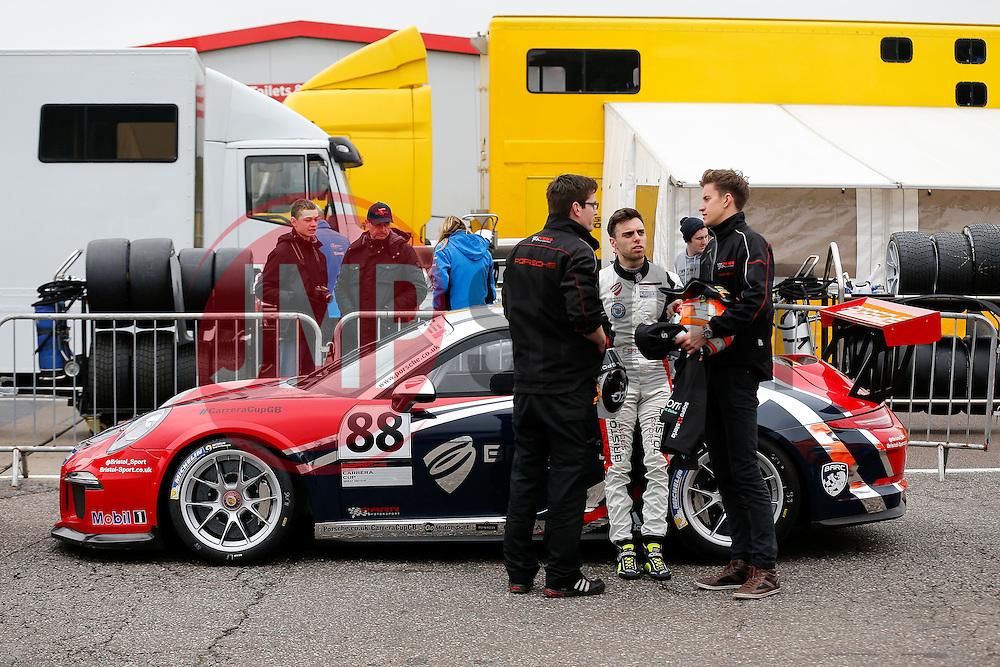 Dino Zamparelli | Bristol Sport Racing | #88 Porsche 911 GT3 Cup - Photo mandatory by-line: Rogan Thomson/JMP - 07966 386802 - 04/04/2015 - SPORT - MOTORSPORT - Fawkham, England - Brands Hatch Circuit - British Touring Car Championship Meeting.