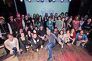 Lancement du 17e festival Vue sur la relève des arts de la scène du 4 au 21 avril 2012 /  le Lion d'Or / Montreal / Canada / 2012-03-06, © Photo Marc Gibert / adecom.ca