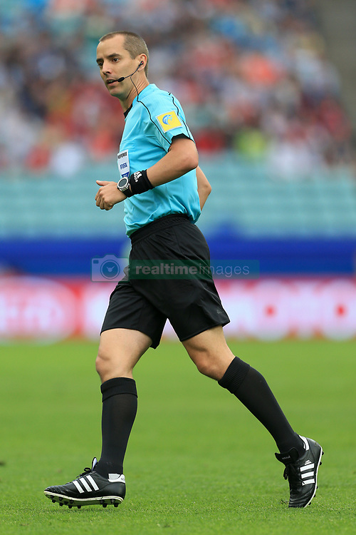 19th June 2017 - FIFA Confederations Cup (Group B) - Australia v Germany - Referee Mark Geiger - Photo: Simon Stacpoole / Offside.