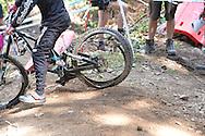UCI MOUNTIN BIKE WOERL CUP DOWNHILL JUNIORES, VAL DI SOLE 22 AGOSTO 2015 © foto Daniele Mosna