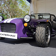 London,England, UK : 5th May 2016 : Caterham showcases at  London Motor Show at Battersea Evolution over four days, with an exclusive preview in London. Photo by See Li