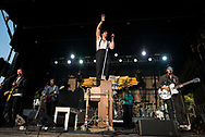 Low Cut Connie plays during day 2 of the Grand Point North music festival at Waterfront Park on Sunday afternoon September 17, 2017 in Burlington. (BRIAN JENKINS/for the FREE PRESS)