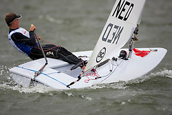 Roelof Bouwmeester, Laser, Medal races, May 29th, Delta Lloyd Regatta in Medemblik, The Netherlands (26/30 May 2011).