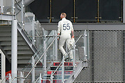 Ben Stokes of England looks dejected as he walks off the field to the England dressingroom after picking up an injury while bowling during the International Test Match 2019, fourth test, day two match between England and Australia at Old Trafford, Manchester, England on 5 September 2019.