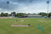 General view of Grace Road before the Royal London Women's One Day International match between England Women Cricket and Australia at the Fischer County Ground, Grace Road, Leicester, United Kingdom on 2 July 2019.