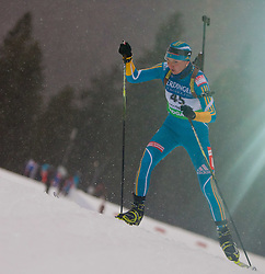 13.01.2011, Chiemgau Arena, GER, IBU Biathlon Worldcup, Ruhpolding, Individual Women, im Bild Olena Pidhrushna (UKR) // Olena Pidhrushna (UKR) during IBU Biathlon World Cup in Ruhpolding, Germany, EXPA Pictures © 2011, PhotoCredit: EXPA/ J. Feichter