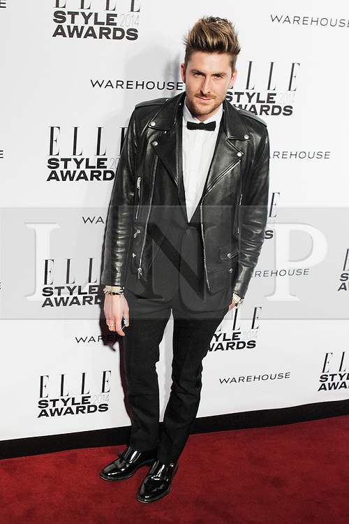 © Licensed to London News Pictures. 18/02/2014. London, UK. Henry Holland attends the ELLE Style Awards 2014 at One Embankment in central London. Photo credit : Andrea Baldo/LNP