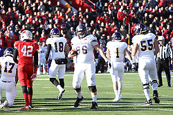 05 December 2015:  Jacob Judd(66). NCAA FCS Round 2 Football Playoff game between Western Illinois Leathernecks and Illinois State Redbirds at Hancock Stadium in Normal IL (Photo by Alan Look)
