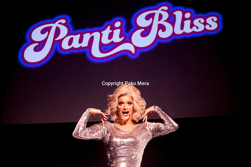EDINBURGH, UNITED KINGDON. 9th August. Press call Panti: High Heels in Low Places. Directed by Philip McMahon as a part of  Edinburgh Fringe Festival 2016 in Traverse Theatre. Pictured Panti Bliss. Pako Mera/Alamy live News