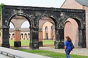 Le Grand Hornu, UNESCO Weltkulturerbe, Hornu bei Mons, Hennegau, Wallonie, Belgien, Europa | Le Grand Hornu, UNESCO world heritage site, Hornu near Mons, Hennegau, Wallonie, Belgium, Europe