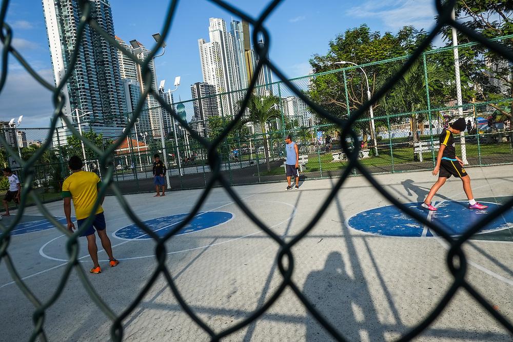 PANAMA CITY / CIUDAD DE PANAMA<br /> Photography by Aaron Sosa.<br /> Cinta Costera, Panama City - Panama 21-12-2014<br /> (Copyright &copy; Aaron Sosa)