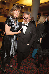 Designer JOSEPH and his wife at the Feast of Albion a sumptious locally-sourced banquet in aid of The Soil Association held at The Guildhall, City of London on 12th March 2008.<br />