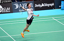 Alex Lane of Bristol Jets  - Photo mandatory by-line: Robbie Stephenson/JMP - 07/11/2016 - BADMINTON - University of Derby - Derby, England - Team Derby v Bristol Jets - AJ Bell National Badminton League