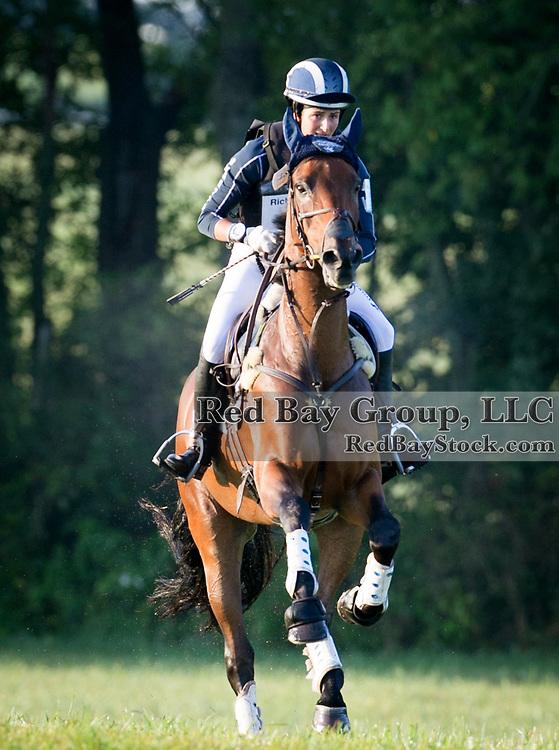 Jennie Brannigan and Cambalda at the 2013 Richland Park Horse Trials held in Richland, Michigan.
