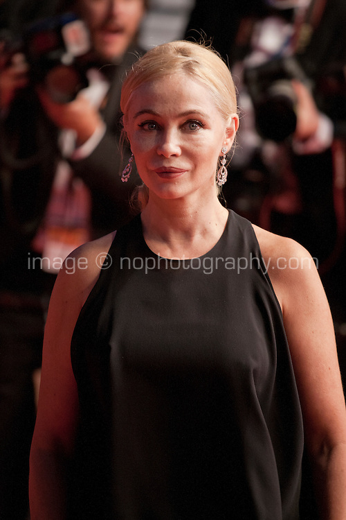 Emmanuelle Beart at the gala screening for the film It's Only the End of the World (Juste La Fin Du Monde) at the 69th Cannes Film Festival, Thursday 19th  May 2016, Cannes, France. Photography: Doreen Kennedy