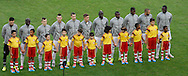 The France starting lineup during the 2014 FIFA World Cup Group E match at Maracana Stadium, Rio de Janeiro<br /> Picture by Andrew Tobin/Focus Images Ltd +44 7710 761829<br /> 25/06/2014