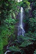 Wailua Falls, Hana Coast, Maui, Hawaii<br />