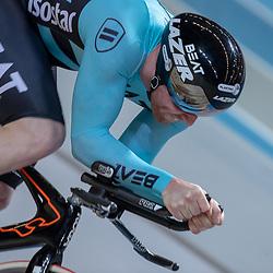 29-12-2018: Wielrennen: NK Baan: Apeldoorn<br />Roy van den Berg pakt de titel op de kilometer