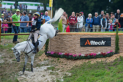 Albert Dag, (SWE), Tubber Rebel - Eventing Cross Country test - Alltech FEI World Equestrian Games™ 2014 - Normandy, France.<br /> © Hippo Foto Team - Leanjo de Koster<br /> 30/08/14
