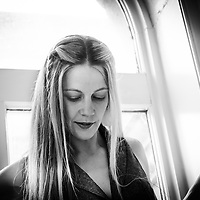 Portrait Shoot with Claire Robertson-Dwyer looking down