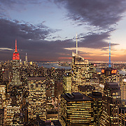 Manhattan Spires<br />