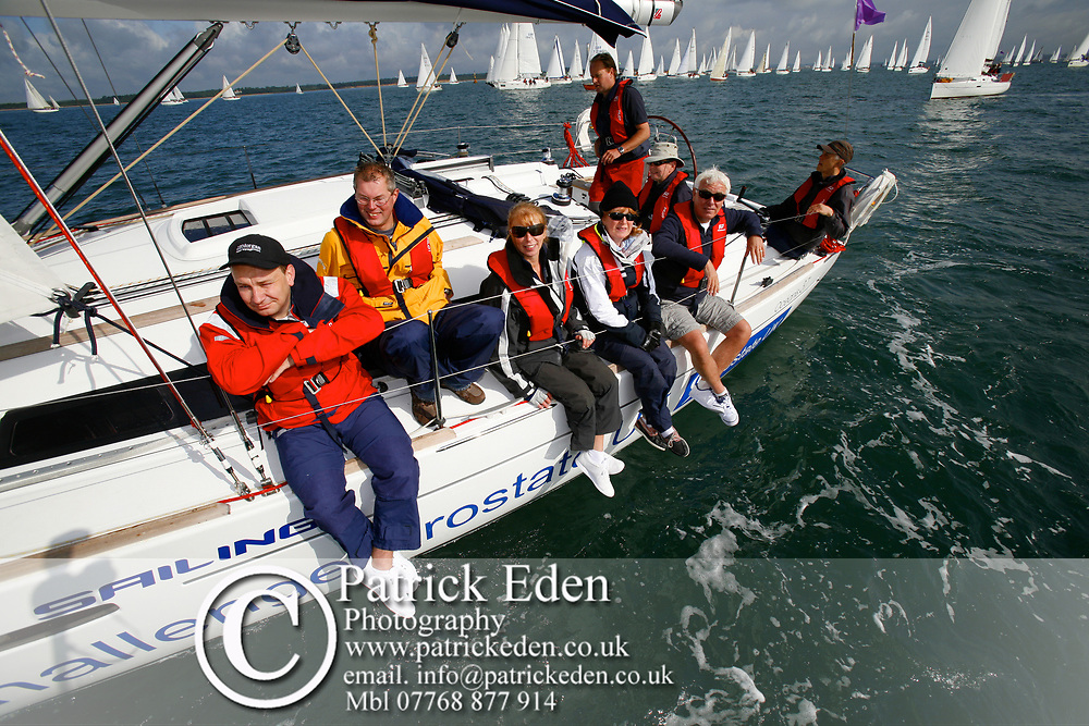 Dave Spivey, CHALLENGE PROSTATE CANCER, Round the Island Race, Cowes, Isle of Wight Round the Island Race 2009 Sports Photography